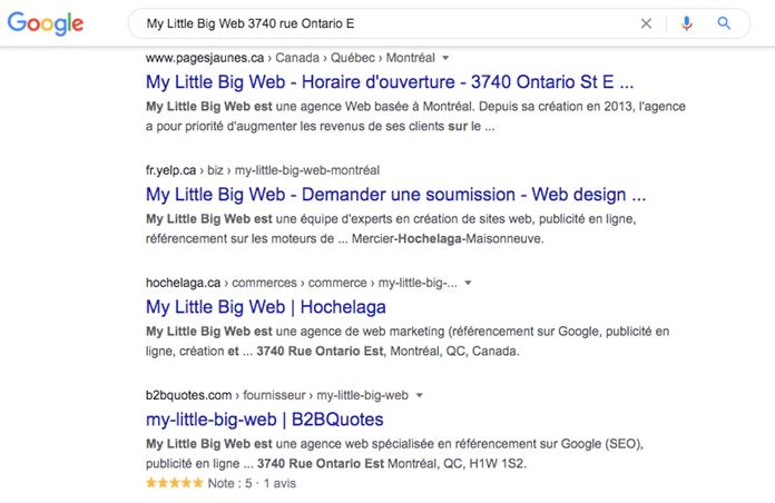 Citations locales SEO Local My Little Big Web