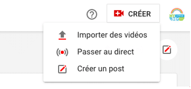 Optimisation chaine YouTube - vidéo en direct