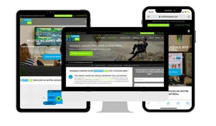 responsive web design cconversion