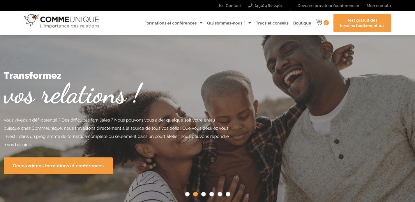 bon design pour convertir visiteur en client