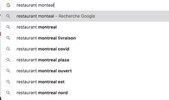 longue traîne restaurant Montréal