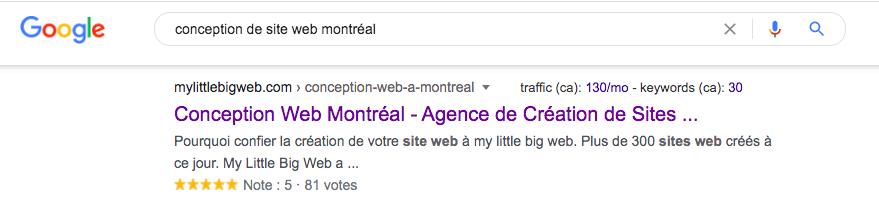 Mots clés pour se positionner sur Google