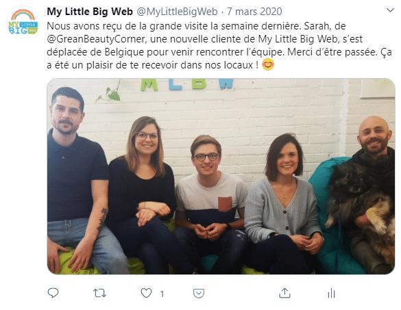gestion de communauté humaine twitter