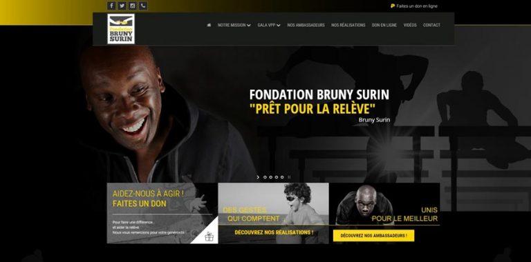 La Fondation Bruny Surin choisit My Little Big Web pour refaire son site web !