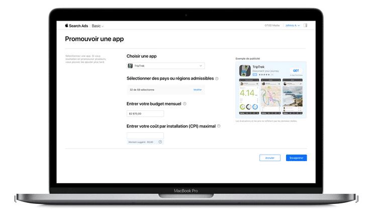 création-publicité-Apple-Search-Ads-Basic