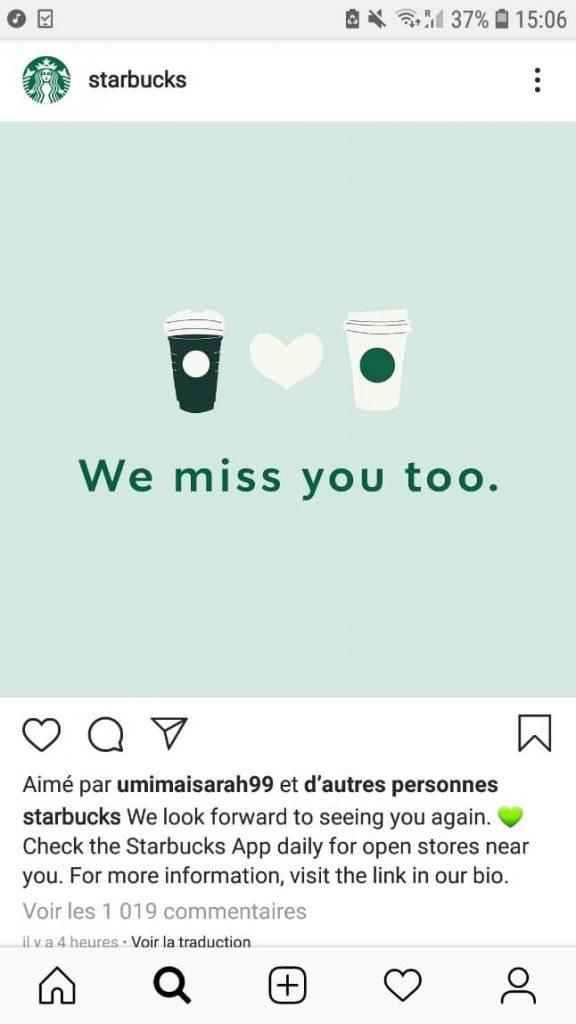 communication-starbukcs-Instagram