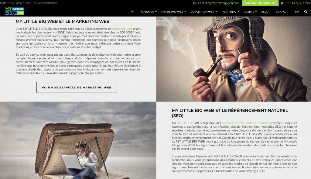 Page-accueil-contenu-structure