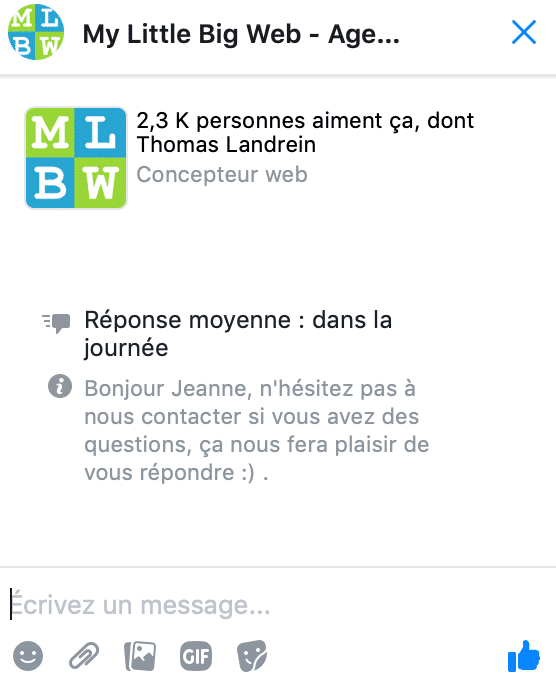 Exemple-chatbot