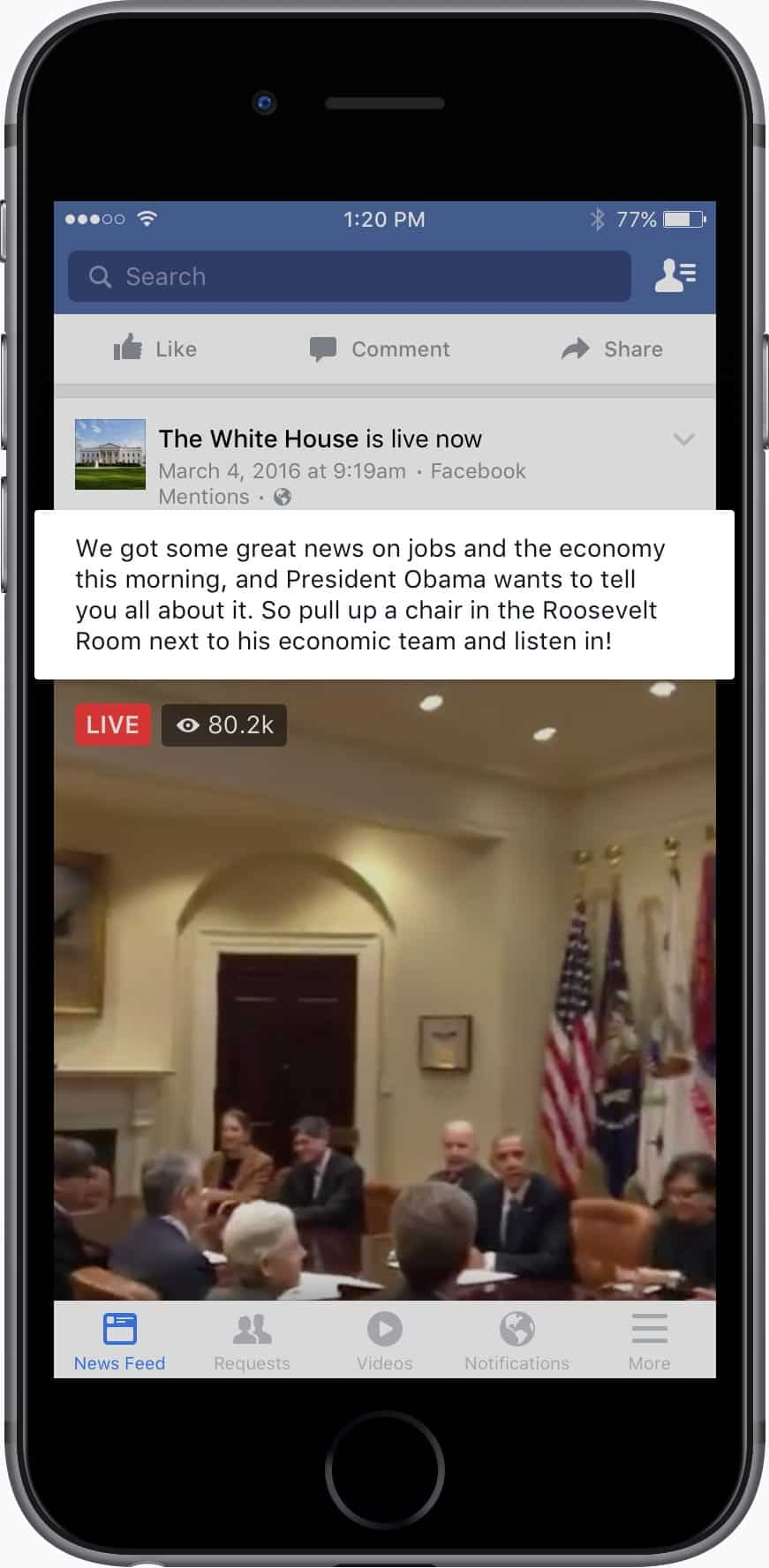 facebook-live-white-house