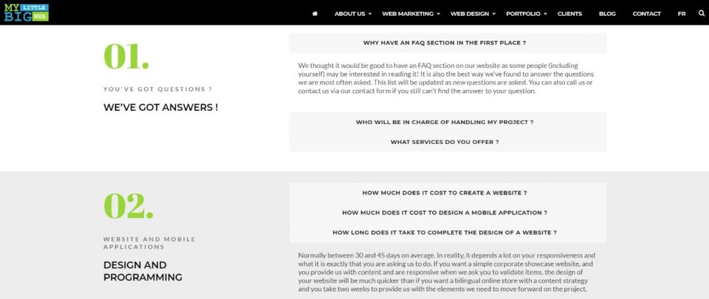 FAQ Buyer's Journey