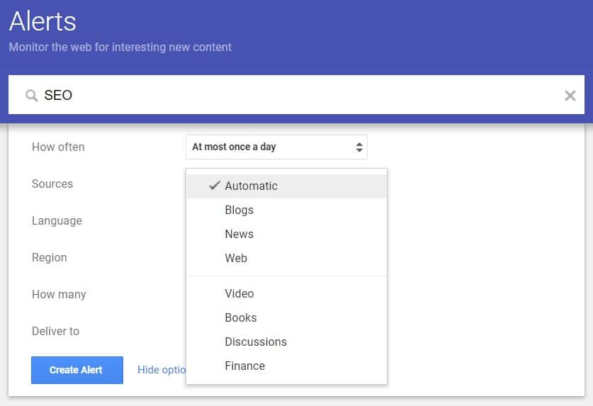 Google Alerts Blog Commenting