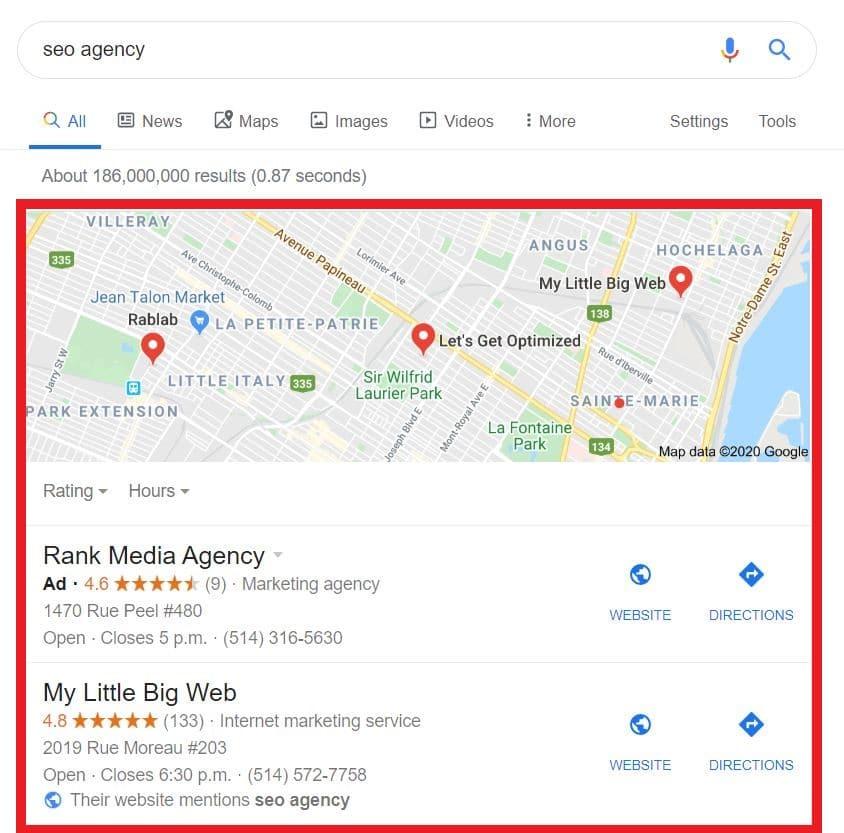 Google Maps Positioning Optimization