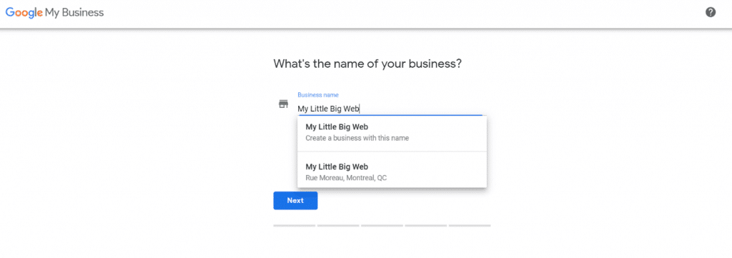 Google My Business Ownership Example