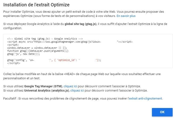 installation-extrait-google-optimize