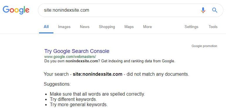 non-indexed-site