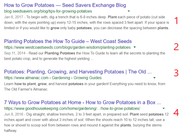 Position Zero Ranking Google