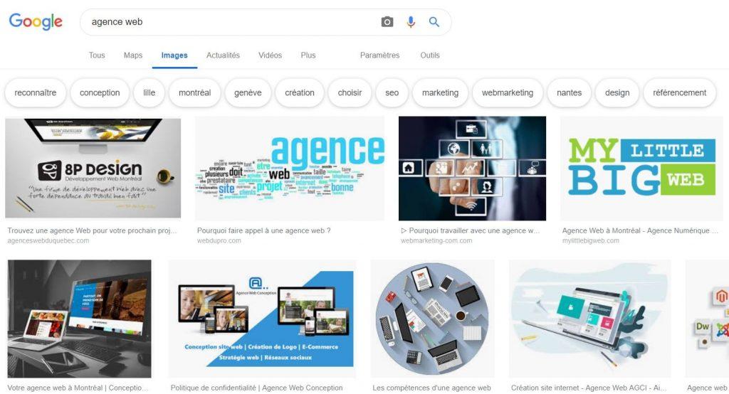 Recherche-agence-web-google-images