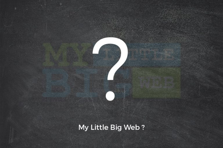 Why My Little Big Web?